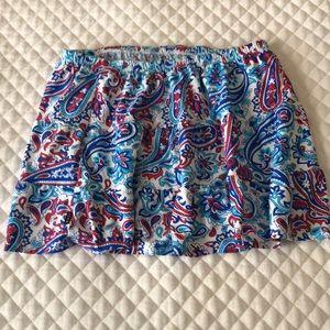 Izod size M swim skirt.